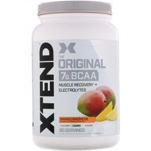 BCAA, манго, XTend, Scivation, 1243 гр.