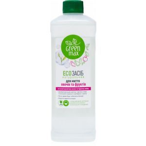 ЭКОсредство для мытья овощей и фруктов, Green Max, 500 мл