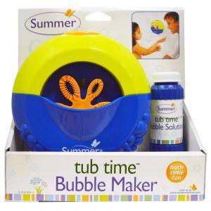 Машинка для пускания мыльных пузырей, Bubble Maker, Summer Infant