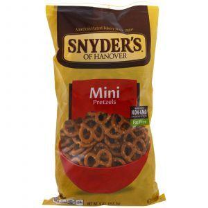 Брецель (соленый мини кренделек), Mini Pretzels, Snyder's, 255,2 г