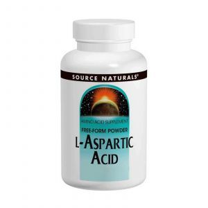 L-аспарагиновая кислота, Source Naturals, 100 г