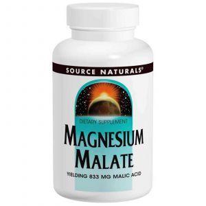 Магния малат, Source Naturals, 180 таблеток