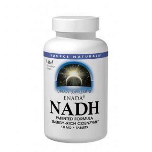 NADH, Source Naturals, 5.0 мг, 30 табл