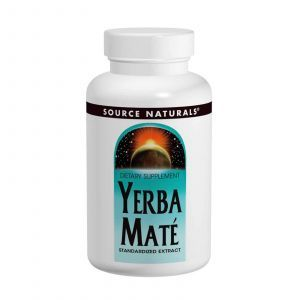 Мате, Source Naturals, 600 мг, 90 таблеток