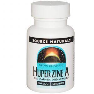 Витамины для мозга, Source Naturals, 100 mcg, 120 таблеток