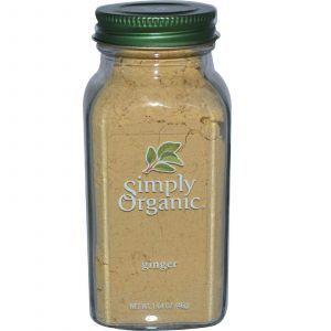 Имбирь, Ginger, Simply Organic, 46 г