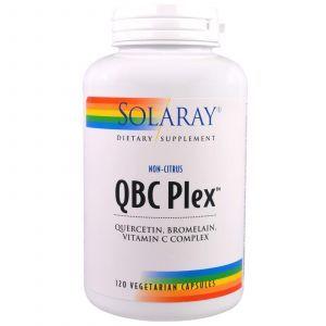 Комплекс от аллергии, QBC Plex, Solaray, 120 капсул