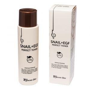 Тонер для лица с муцином улитки, Snail+Egf Perfect Toner, Secret Skin, 150 мл