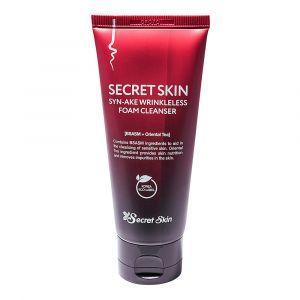 Пенка для умывания с пептидом змеиного яда, Syn-Ake Wrinkless Foam Cleanser, Secret Skin, 100 мл