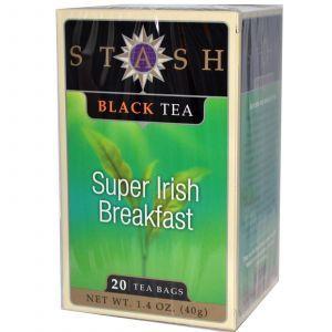 Чай «Ирландский завтрак», Stash Tea, 20 пак.(40 г.)