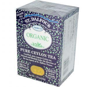 Органический цейлонский чай, Ceylon Tea, St. Dalfour, 50 г