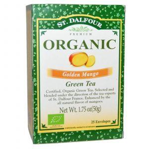 Органический зеленый чай, Green Tea, St. Dalfour, 50 г