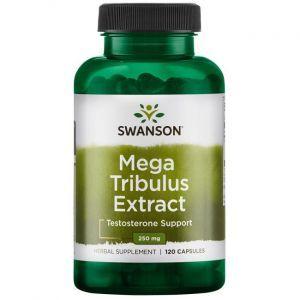 Трибулус Екстра, Mega Tribulus Extract, Swanson, 250 мг, 120 капсул