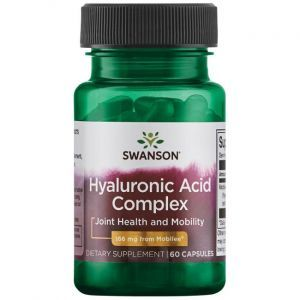 Гиалуроновая кислота, Hyaluronic Acid, Swаnson, комплекс, 166 мг, 60 капсул (Default)
