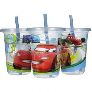 Поильник с трубочкой, Take & Toss Straw Cups, The First Years, 296 мл