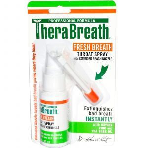 Спрей для горла свежее дыхание, TheraBreath, 30 мл.