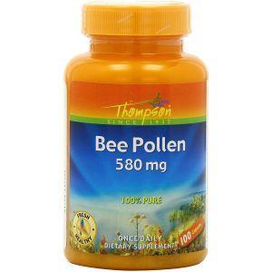 Пчелиная пыльца, Bee Pollen, NusaPure, 1500 мг, 200 вегетарианских капсул