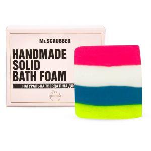 Тверда піна для ванн Жувальна гумка, Handmade Solid Bath Foam, Mr. Scrubber, в подарунковій коробці, 100 г