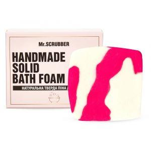 Тверда піна для ванн Гуава, Handmade Solid Bath Foam, Mr. Scrubber, в подарунковій коробці, 100 г