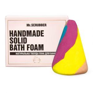 Твердая пена для ванн Единорог, Handmade Solid Bath Foam, Mr. Scrubber, в подарочной коробке, 100 г