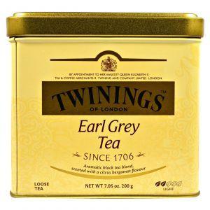 Листовой чай Эрл Грей, Earl Grey Loose Tea,Twinings, 200 г