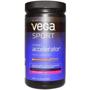 Ускоритель востановления , Recovery Accelerator, Vega, яблочно-ягодный вкус, 540 г